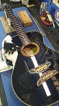 unglued guitar bridge