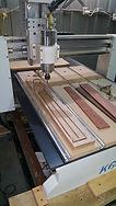 CNC mahogany guitar neck
