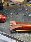 Gibson SG broken headstock