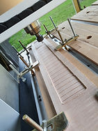 CNC maple fretboard