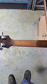 Acoustic guitar neck refinish