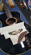 acoustic guitar bridge reglue