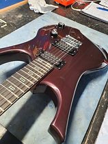 Cabal electric guitar Black cherry pearl