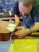 Sawing off a classical guitar neck
