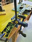Gibson Les Paul Custom headstock repair clamp