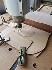 CNC guitar soundhole