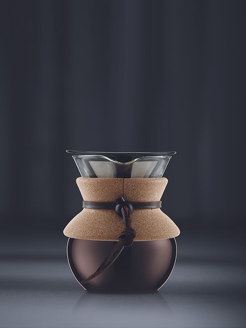 Pour Over w/ built in filter 17oz