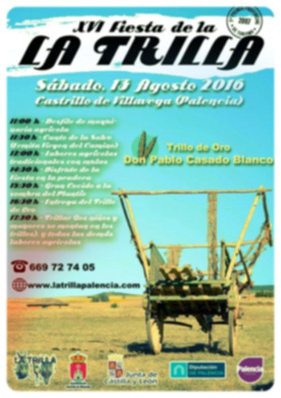 Fiesta de la trilla en Castrillo de Villavega, palencia