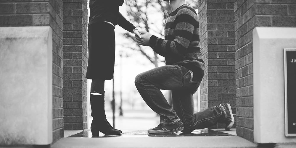 A wedding proposal