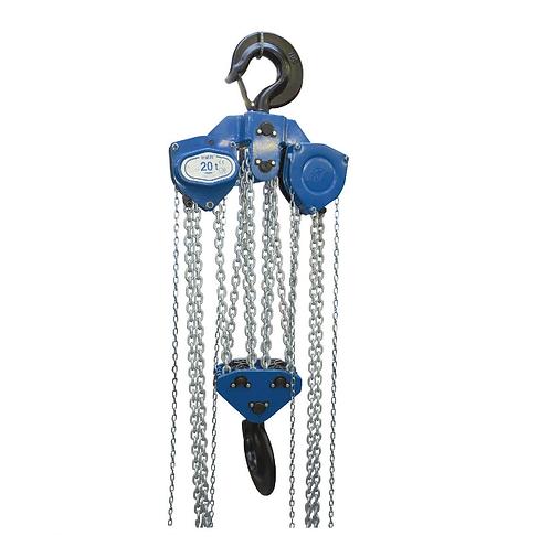 Tralift 20t 8 Fall Manual Chain Hoist