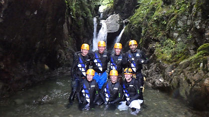 Ghyll scramble completed !
