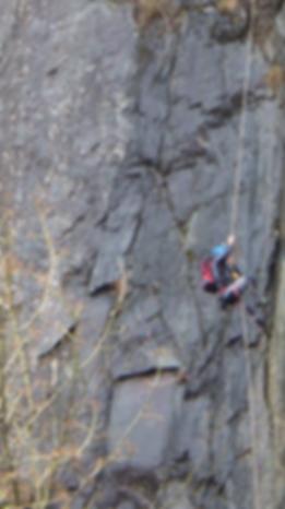 Rope climbing challenge