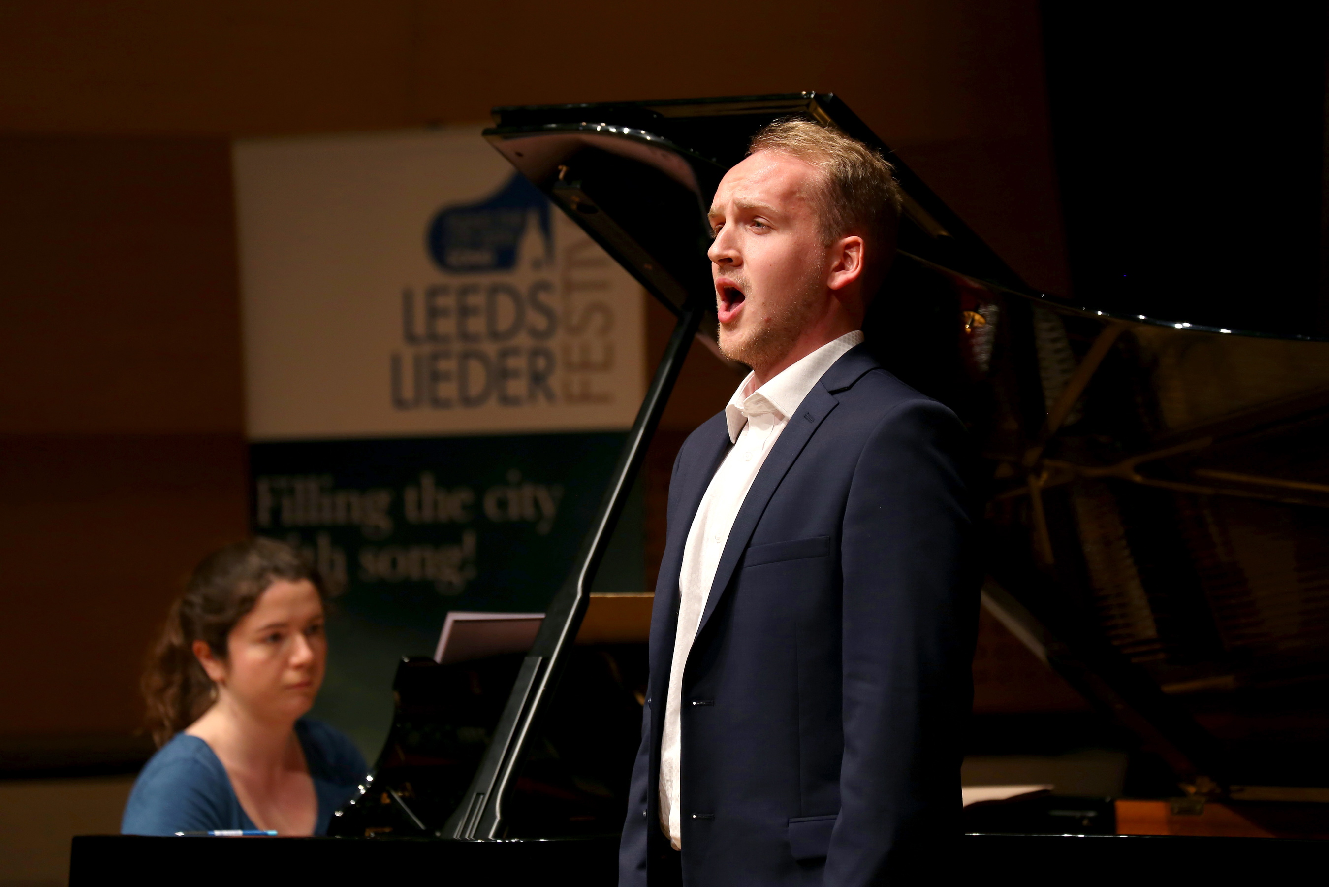 Peter Edge at Leeds Lieder