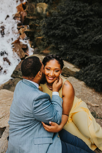 Charming Longwood Garden Engagement Session | Philadelphia Wedding Photographer