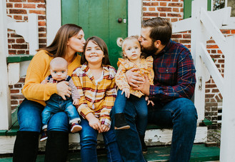 The Smith Family  ||  National Park, NJ  ||  South Jersey Family Photographer