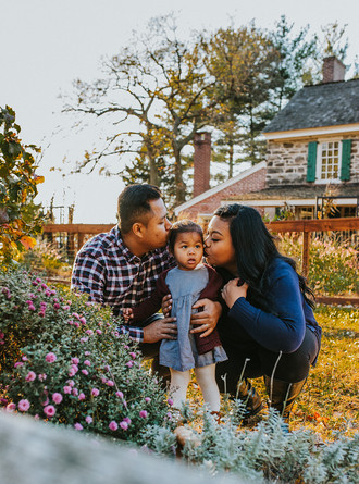 Sunset Family Session || South Jersey Family Portrait Photographer