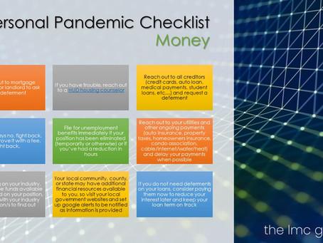 A Pandemic Checklist