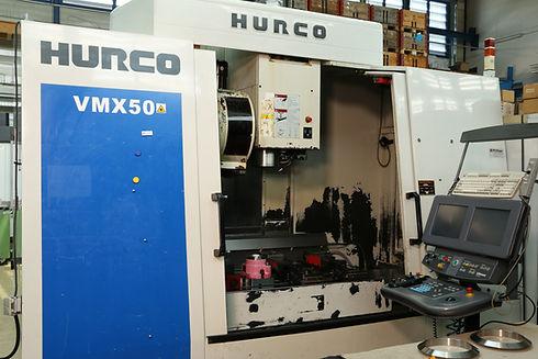 Hurco VMX50 & Zermec