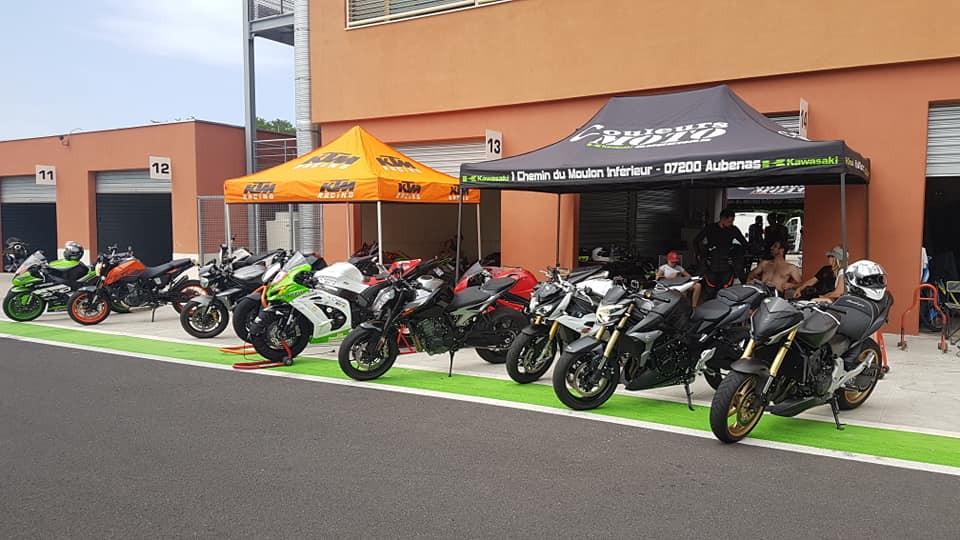 journée piste couleurs moto