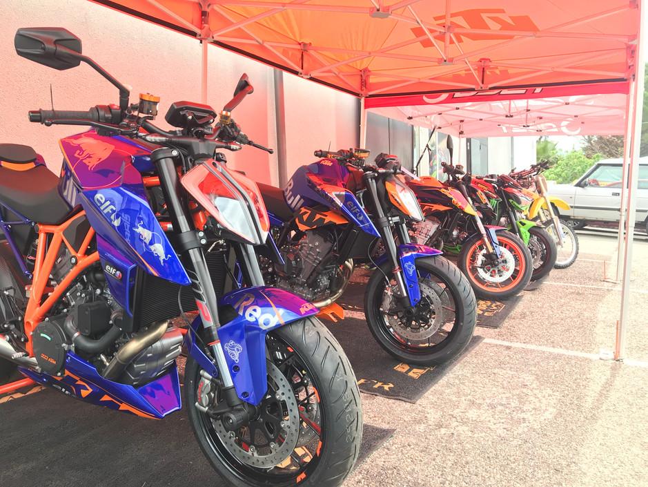 prépa by couleurs moto