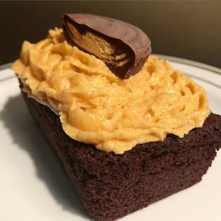 Brownie Bar w/ Peanut Butter Buttercream