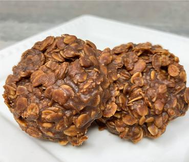 Chocolate Peanut Butter No Bake Oatmeal Cookies