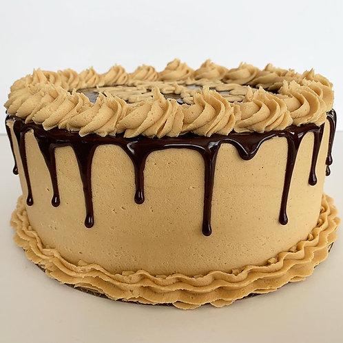 Chocolate Cake w/ Chocolate Ganache Filling