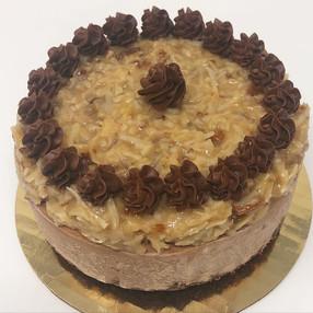 Baby German Chocolate Cheesecake