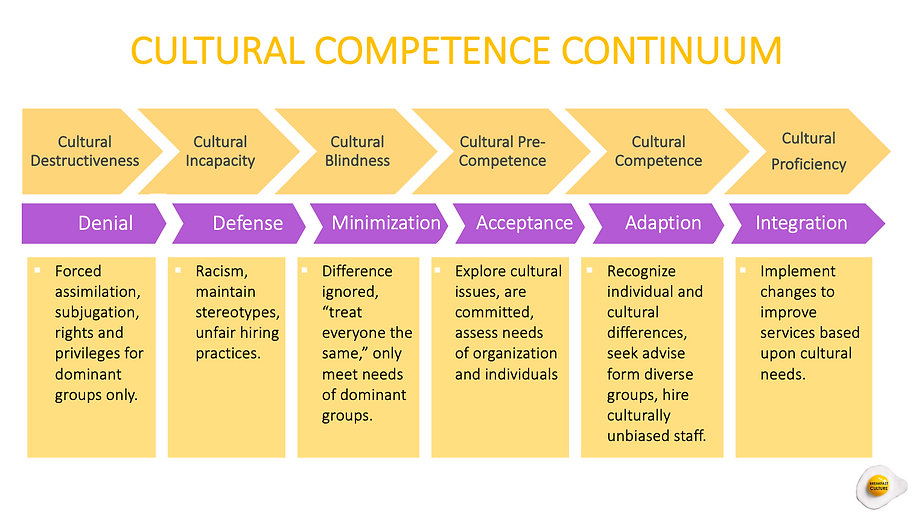 Cultural Competence Continuum April 2021