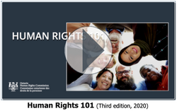 Ontario Human Rights Commission eCourse - Human Rights 101 (Third Edition, 2020)