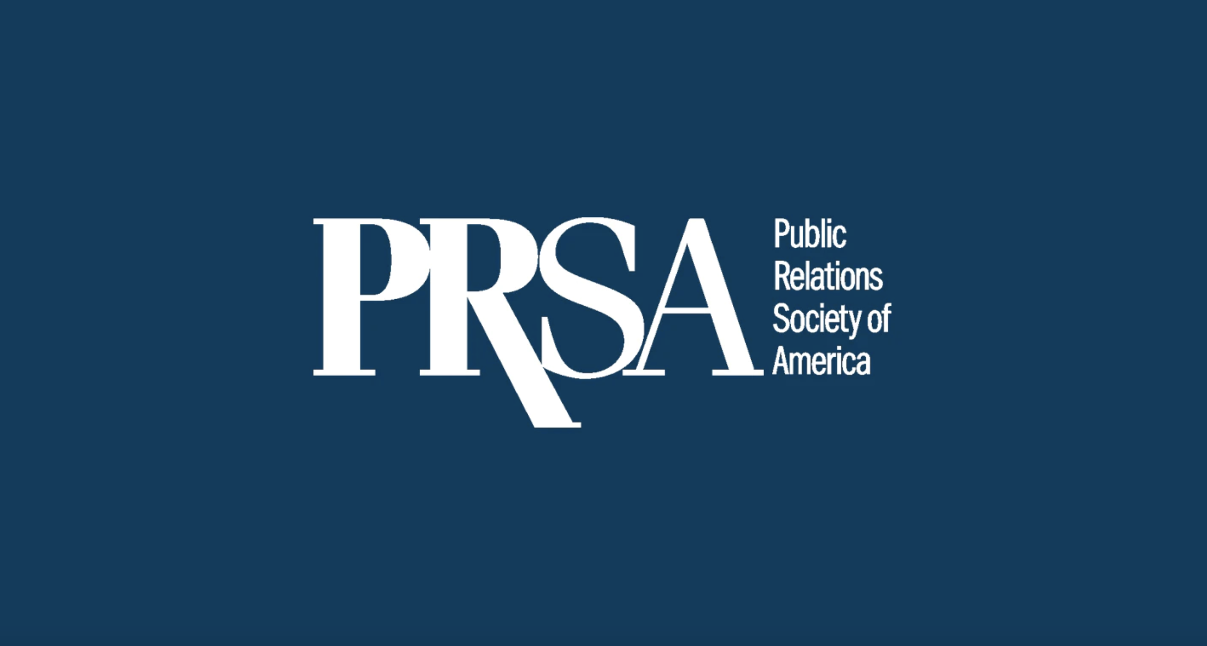 Public Relations Society of America