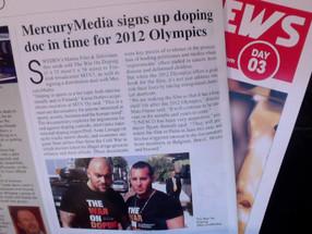 TWOD publicity in MipTV News
