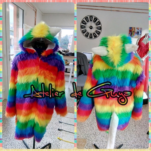 "Costume di carnevale ""Rainbow cat"""