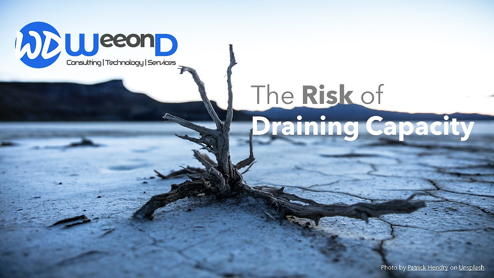 TOC - The risk of Draining Capacity