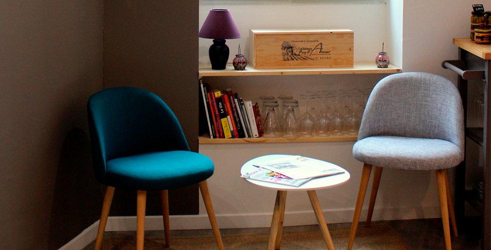 architeture interieur fauteuil tendance cave vin scandinave