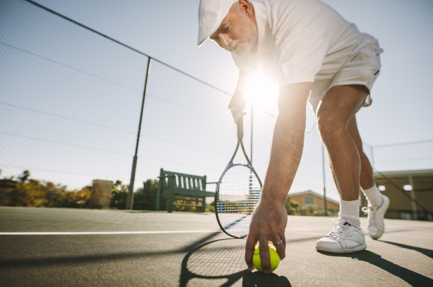 How to do a proper hinge exercise for seniors back health Sunshine Coast.