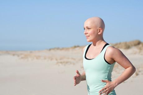 Running cancer patient