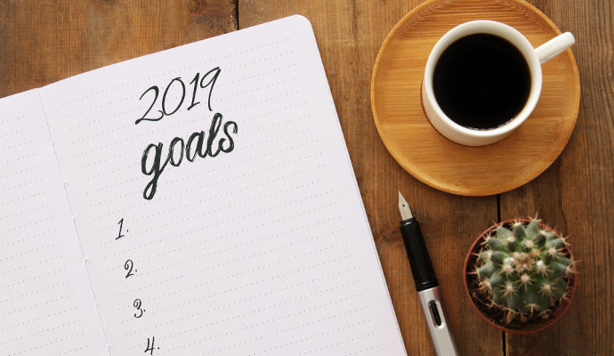 Setting health goals for the new year.