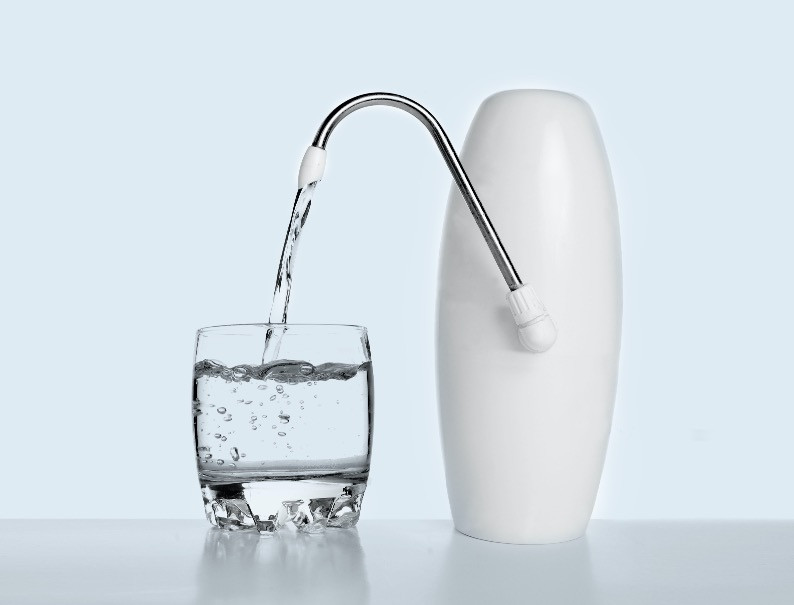 Drink filtered water