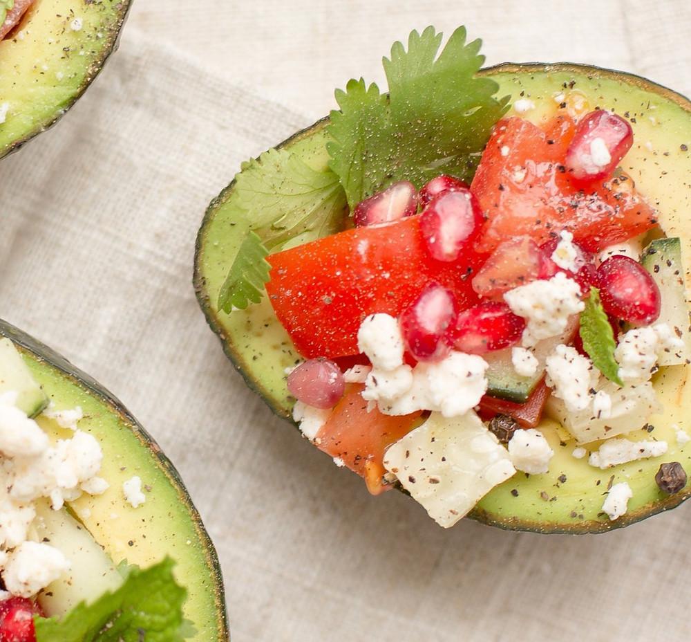 Eat avocado for good fats