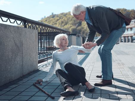 TIPS ON FALLS PREVENTION
