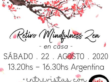 Retiro Mindfulness Zen, en casa