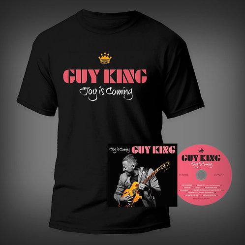 PRE-ORDER: JOY IS COMING CD & T-SHIRT