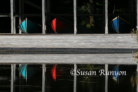 11 - Boathouse Reflection-1