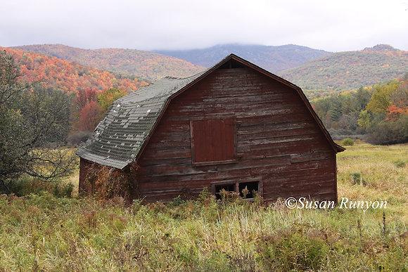 8 - Red Barn, Keene, NY