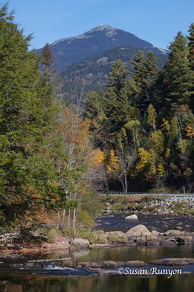 15 - Whiteface Mountain from the Ausable (V) (Autumn)
