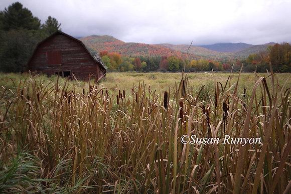 9 - Field with Red Barn, Keene, NY