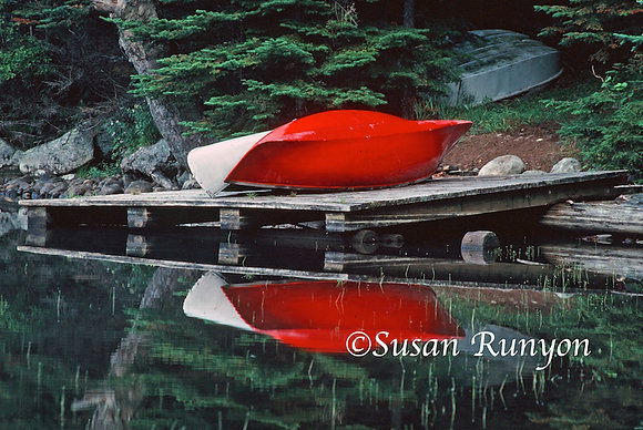 6 - Guideboat Reflection