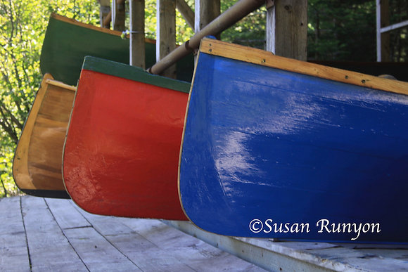 13 - Colorful Guideboats