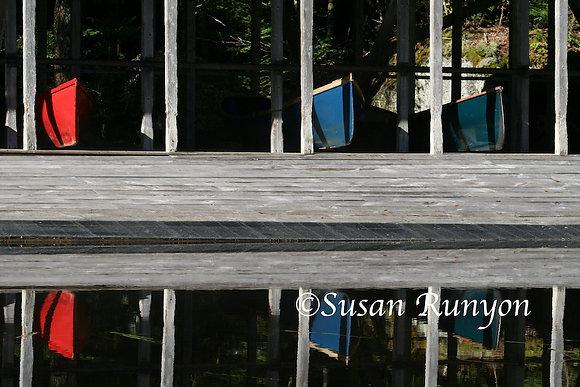 12 - Boathouse Reflection-2